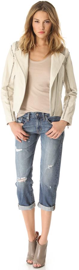 AG Jeans Ex Boyfriend Crop Jeans