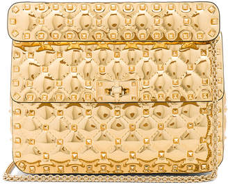 Valentino Medium Metallic Rockstud Spike Shoulder Bag