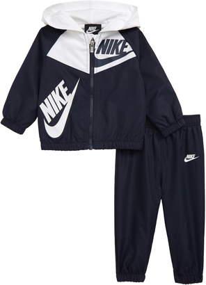 68edf5019ce25 Nike Split Futura Windrunner Hooded Jacket & Track Pants