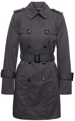 Banana Republic Petite Water-Resistant Classic Trench
