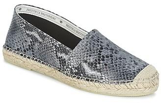 Fred de la Bretonière FRANCIS women's Espadrilles / Casual Shoes in Grey