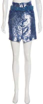 IRO Belted Sequin Skirt w/ Tags