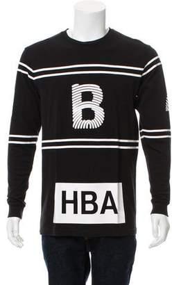 Hood by Air Logo Crew Neck T-Shirt