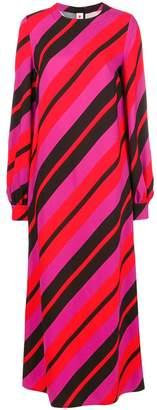 Marni striped long dress