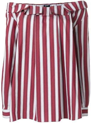 Jil Sander Navy striped off shoulder blouse