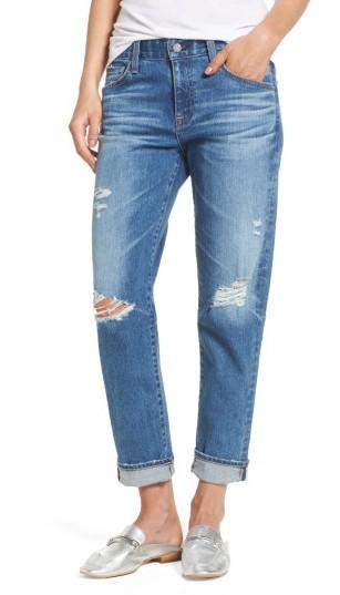Women's Ag Ex-Boyfriend Crop Slim Jeans