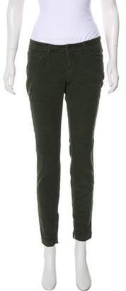 Dolce & Gabbana Corduroy Low-Rise Skinny Pants