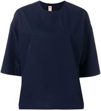Marni poplin short sleeved blouse