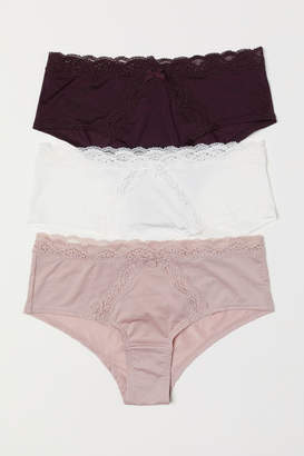 H&M 3-pack Hipster Briefs - Pink