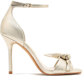 Show Me Your Mumu Dolce Vita ~ Helana Bow Heels ~ Lt Gold