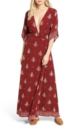 Women's Faithfull The Brand Tuula Maxi Dress $169 thestylecure.com