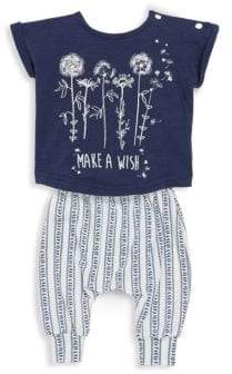 Jessica Simpson Baby's Two-Piece Printed Top and Pants Set