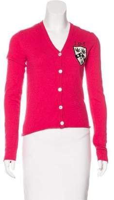 Lucien Pellat-Finet Cashmere Embroidered Cardigan