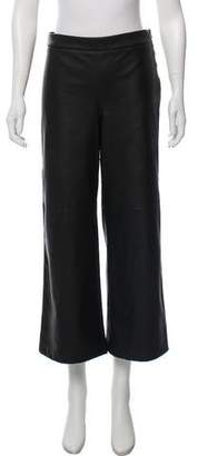 David Lerner Mid-Rise Wide-Leg Pants w/ Tags