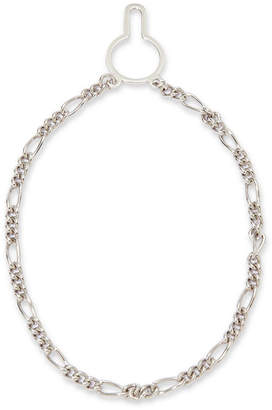 Asstd National Brand Sterling Silver Figaro Link Tie Chain