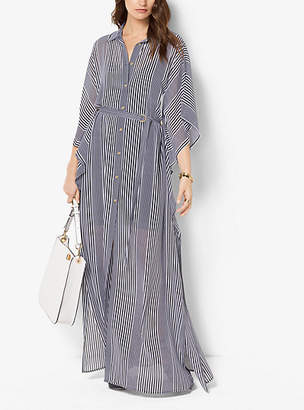 Michael Kors Striped Chiffon Caftan $195 thestylecure.com
