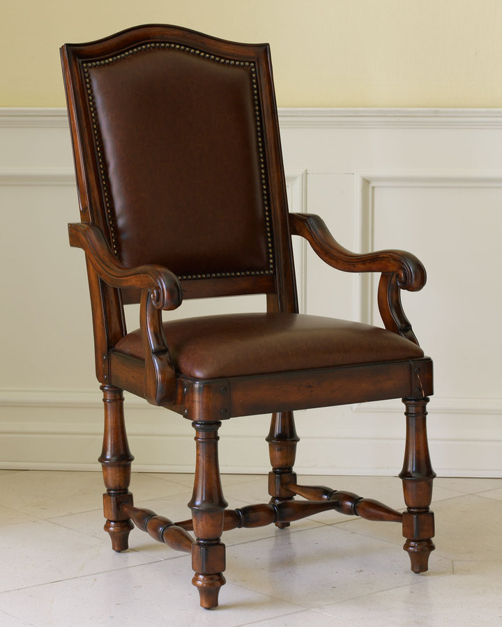 Horchow Two Willa Arm Chairs