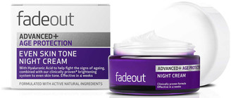 Fade Out ADVANCED + Age Protection Even Skin Tone Night Cream