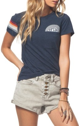 Women's Rip Curl Sunstoned Pocket Tee $29.50 thestylecure.com