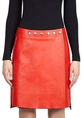 Acne Studios Studded Leather Skirt