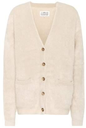 Maison Margiela Mohair and wool-blend cardigan