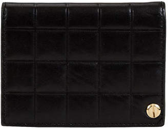 One Kings Lane Vintage Chanel Black Chocolate Bar Card Wallet