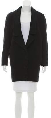 Stella McCartney Wool-Cashmere Short Coat