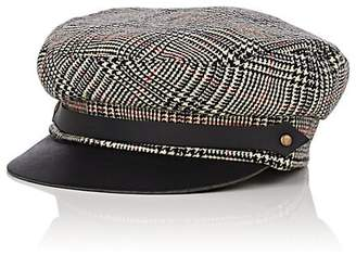 Lola Hats Women's Corto Plaid Wool Chauffeur Cap