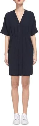 Whistles Eloise V-Neck Dress $270 thestylecure.com