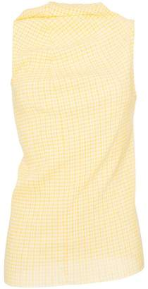 Jil Sander sleeveless check top