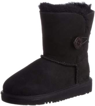 UGG T Bailey Button Youth US Size 11 Suede Winter Boot