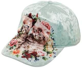 Velvet Kitten No Boundaries Women's and Roses Baseball Hat with Sublimated Print Bill