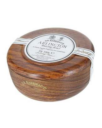 Co D. R. Harris & Arlington Shaving soap in Mahogany Bowl