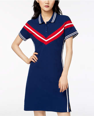 Almost Famous Juniors' Varsity Polo Dress