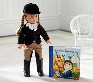Pottery Barn Kids Penelope Dreams Big Book & Doll Set