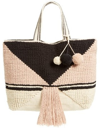 Sole Society Ibiza Tote - Pink $89.95 thestylecure.com