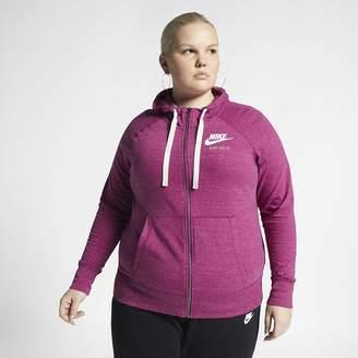 20e6074ee2be Nike Women s Full-Zip Hoodie (Plus Size Sportswear Gym Vintage