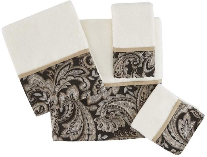 Madison Park Whitman Jacquard 6-piece Bath Towel Set