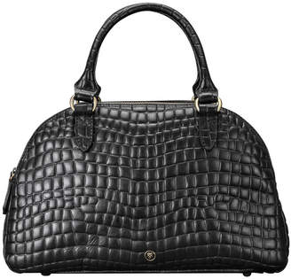 Liliana Maxwell Scott Bags Mock Crocodile Leather Bowling Bag 'Liliana S Croco'