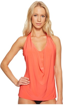 Magicsuit - Solid Sophie Underwire Tankini Top Women's Swimwear $110 thestylecure.com