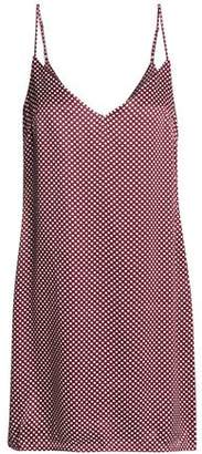 Zimmermann Polka-Dot Satin Mini Dress