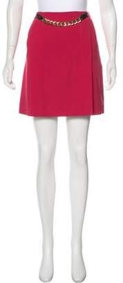 Diane von Furstenberg Mini Chain-Link Skirt