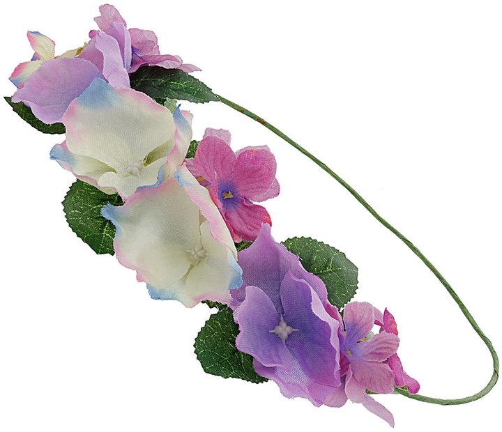 Pastels garland headband