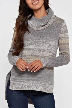 Love Stitch Lovestitch Hi-Lo Turtleneck Sweater