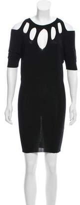 Jean Paul Gaultier Cutout Knit Dress