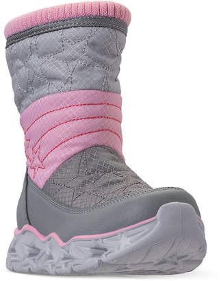 Skechers Toddler Girls' S Lights: Galaxy Lights - Star Bright Light-Up Boots from Finish Line