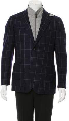 Luigi Bianchi Mantova Lightweight Button-Up Jacket
