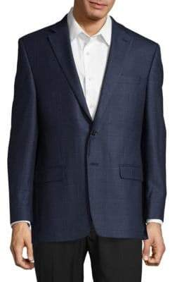 Ralph Lauren Slim-Fit Silk-Wool Blazer