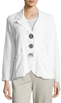 Neon Buddha Lompac Metal-Button Jacket $125 thestylecure.com