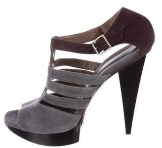 Marni Suede Platform Sandals